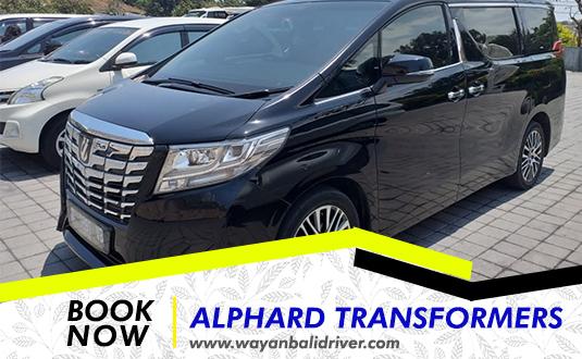 Rent a Alphard Transformers Car in Bali