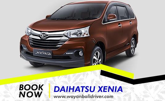 Rent a Daihatsu Xenia Car in Bali