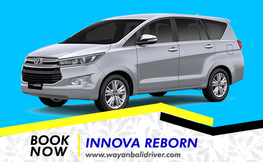Rent a Innova Reborn Car in Bali