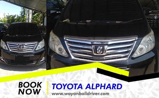 Rent a Toyota Alphard in Bali