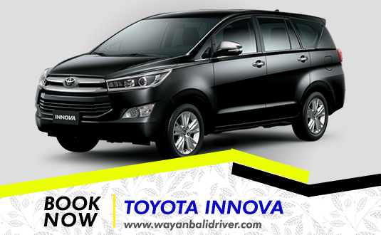 Rent a Toyota Innova Car in Bali