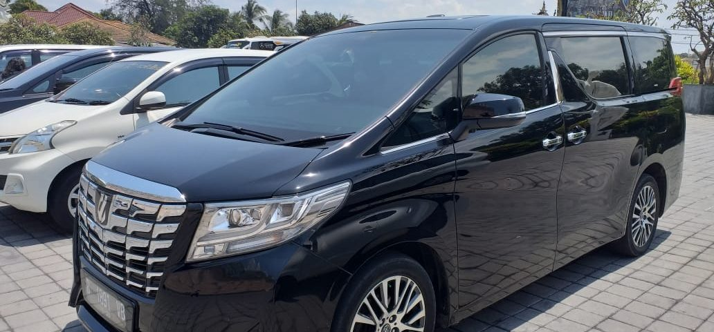 alphard car rental