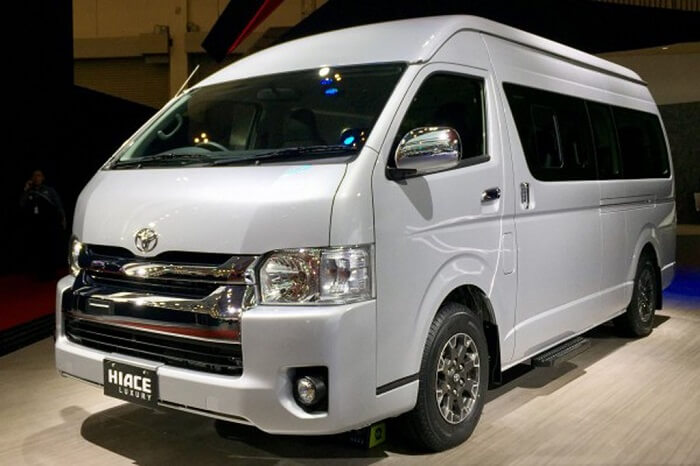 Toyota Hiace Car Rental in Bali