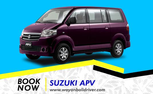 Rent a Suzuki APV in Bali