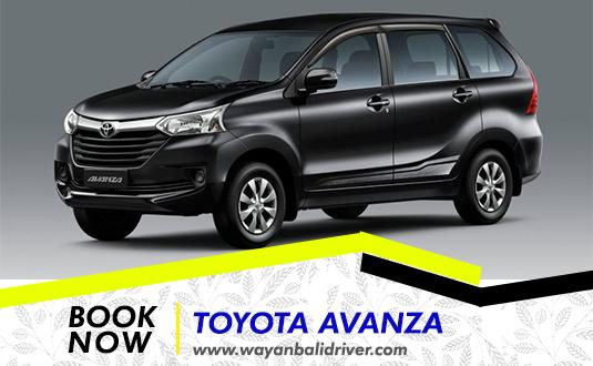 Rent a Toyota Avanza in Bali